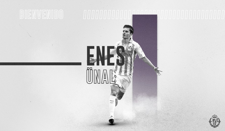 Enes Ünal regresa al Real Valladolid