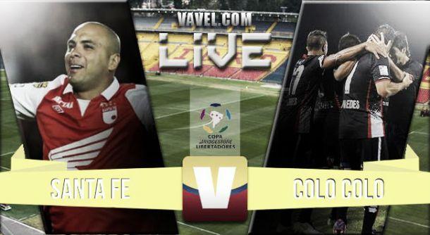 Santa Fe vs Colo Colo en vivo online (3-1)