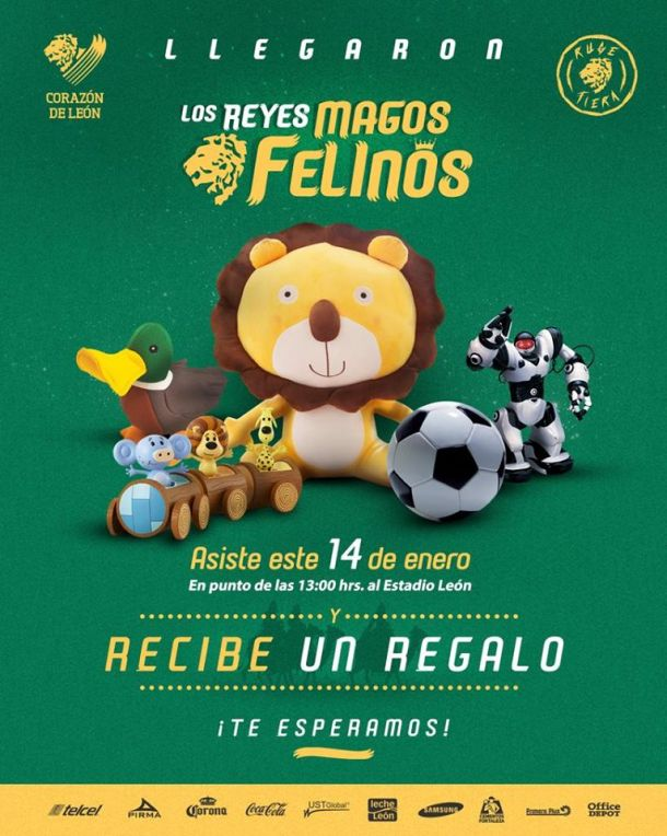 León regalará juguetes por quinto año consecutivo