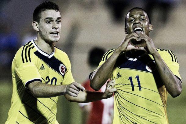 Lucumí y tres puntos para Colombia