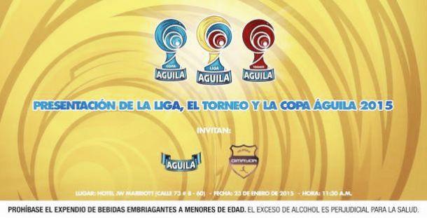 Sorteo de la Liga, Copa y Torneo Águila 2015