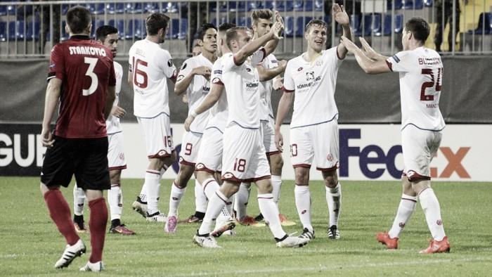 Em jogo de duas viradas, Mainz 05 derrota Qabala fora de casa na UEL
