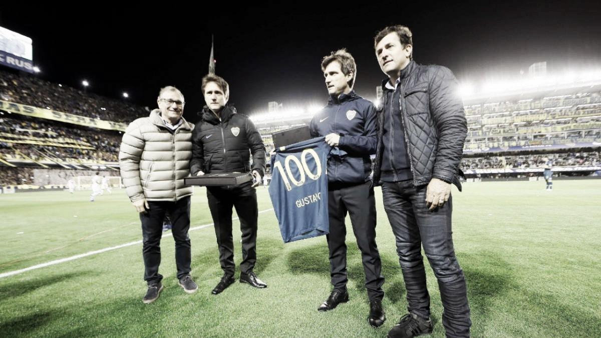 Guillermo cumplió 100 partidos como DT de Boca