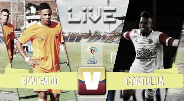 Cortuluá vs Envigado, Liga Águila 2015 en vivo y en directo online (1-1)