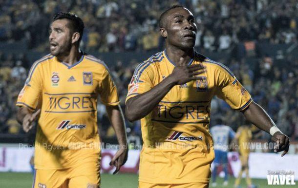 De un solo zarpazo, Tigres venció al Puebla
