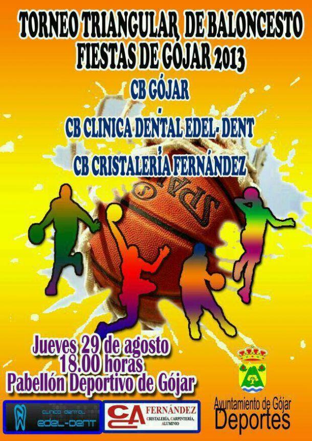 Torneo triangular de baloncesto: Fiestas de Gójar 2013