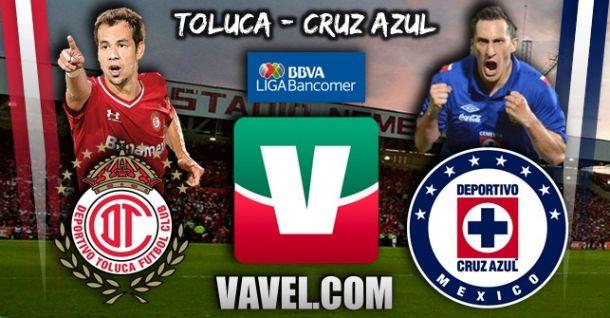 Toluca vs Cruz Azul en vivo online
