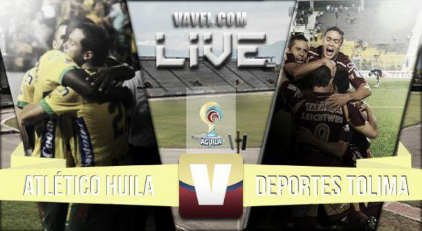Huila vs Tolima en vivo y en directo online