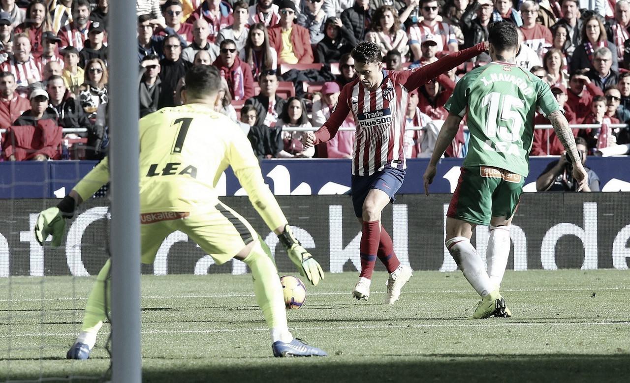 Atlético de Madrid vence Alavés no Wanda Metropolitano e assumevice-liderança da La Liga