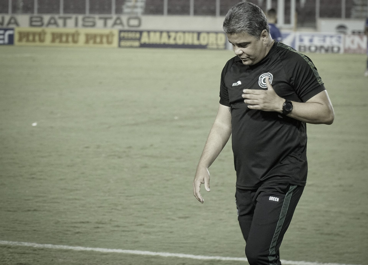 """Marcelo Cabo festeja vitória: """"Foi a melhor partida do Goiás sob meu comando"""""""