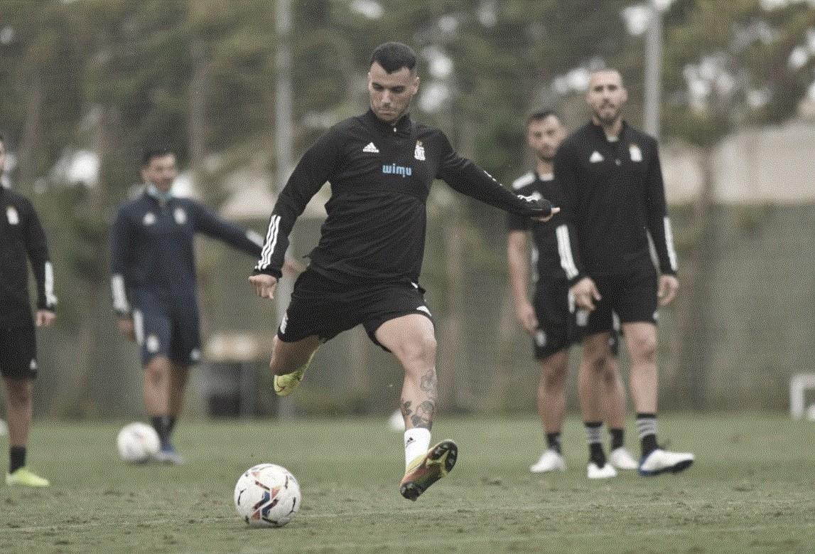 Los jugadores en un entrenamiento | Foto: Cartagena FC