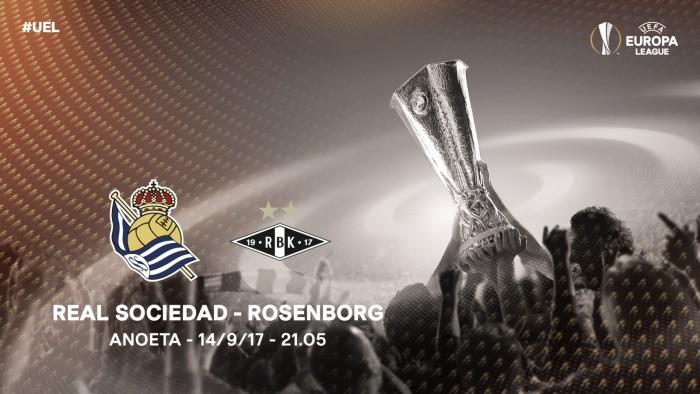 Resumen Real Sociedad 4-0 Rosenborg en UEFA Europa League 2017