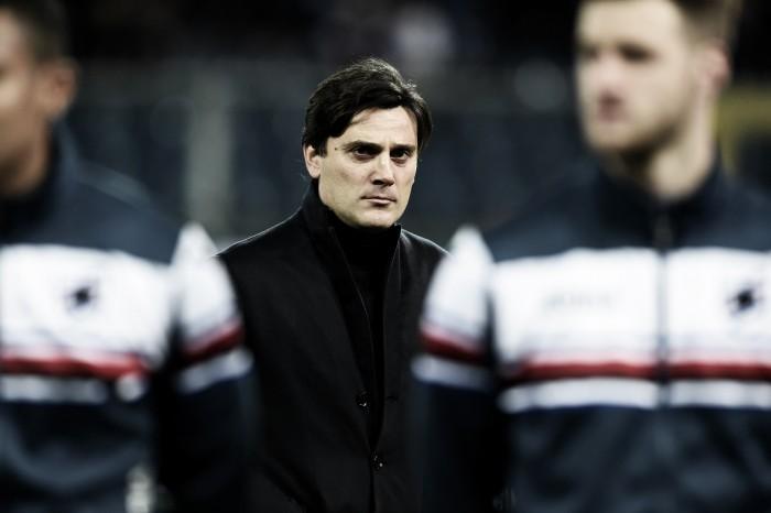 """La Sampdoria cade a Marassi, Montella è realista: """"Dobbiamo ancora conquistarci la salvezza"""""""