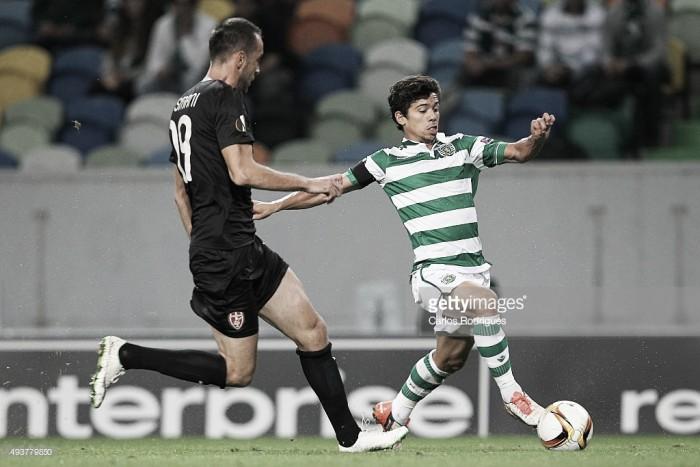 Oficial: André Martins no Olympiakos até 2019