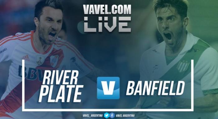 River Plate dio una muestra de carácter y venció a Banfield en el Monumental