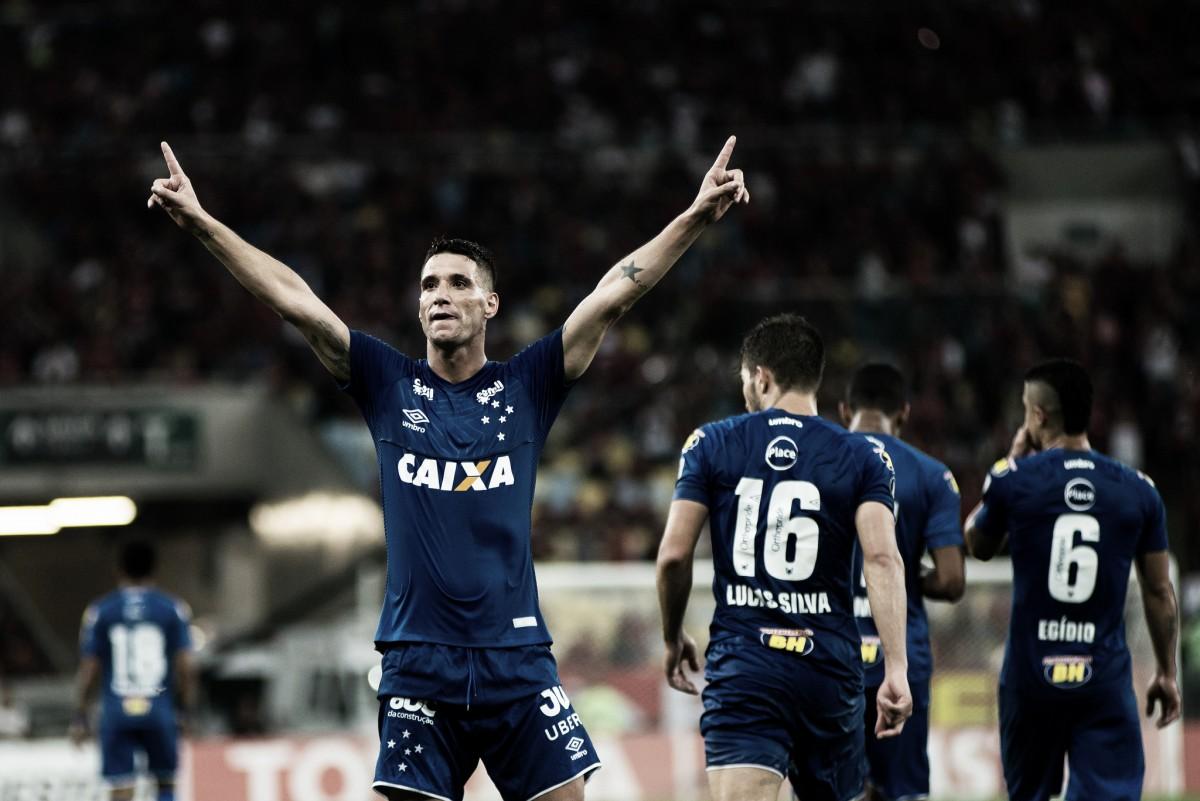 Thiago Neves volta a marcar e confia no tricampeonato do Cruzeiro pela Libertadores