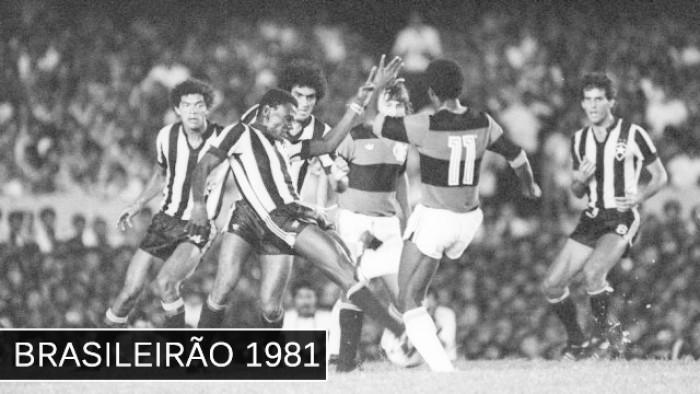 """Relembrar é viver: Subestimado Botafogo elimina """"máquina"""" do Flamengo em 1981"""