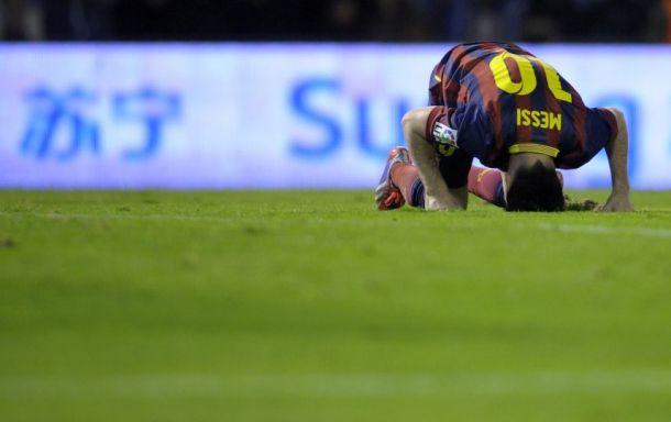 La grande inquiétude Lionel Messi
