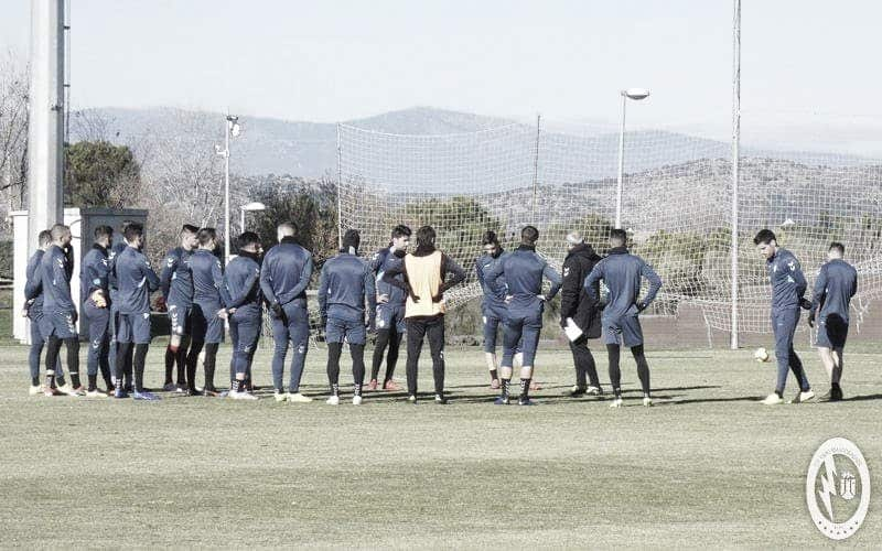 Los majariegos siguen preparando el partido ante el Córdoba