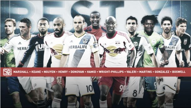 Equipo Ideal MLS 2014