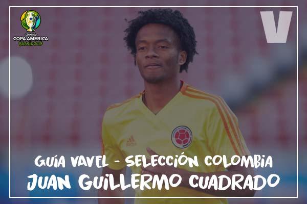 Guía VAVEL, cafeteros en la Copa América 2019: Juan Guillermo Cuadrado