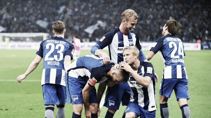 Ibisevic marca dois e Hertha Berlin vence Hamburgo