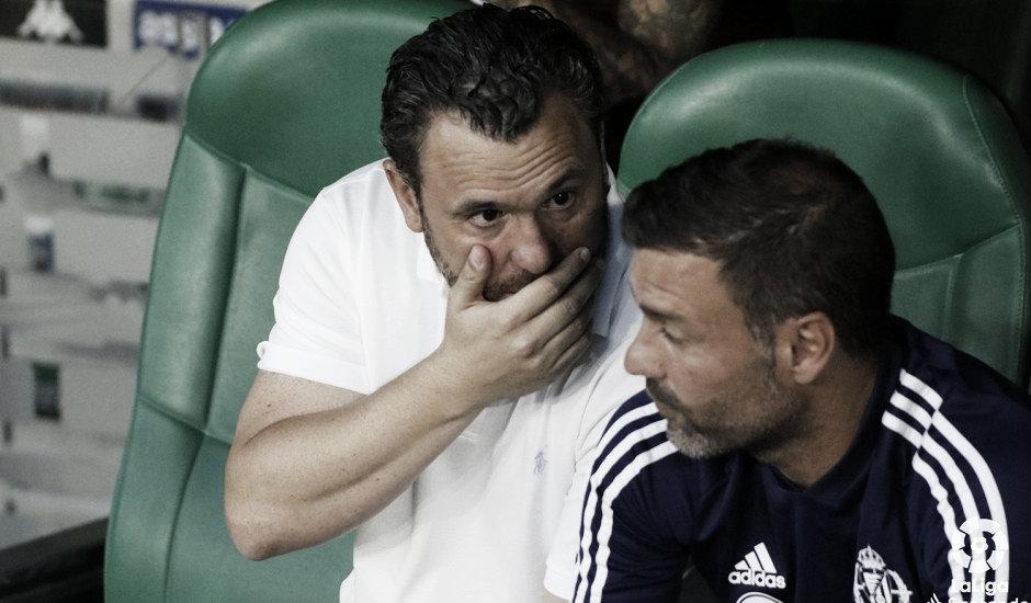 """Sergio González: """"La victoria es un premio al esfuerzo"""""""