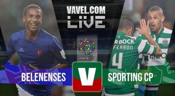 Belenenses vs Sporting de Portugal en vivo y en directo online (1-1)