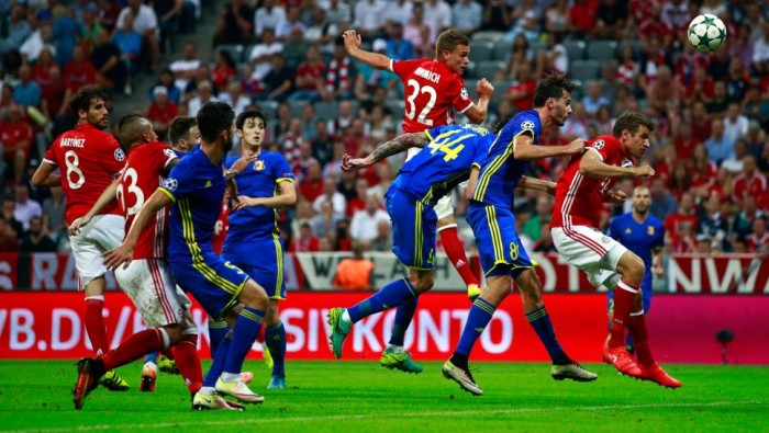 Rostov - Bayern Monaco in Champions League 2016/17 (3-2)