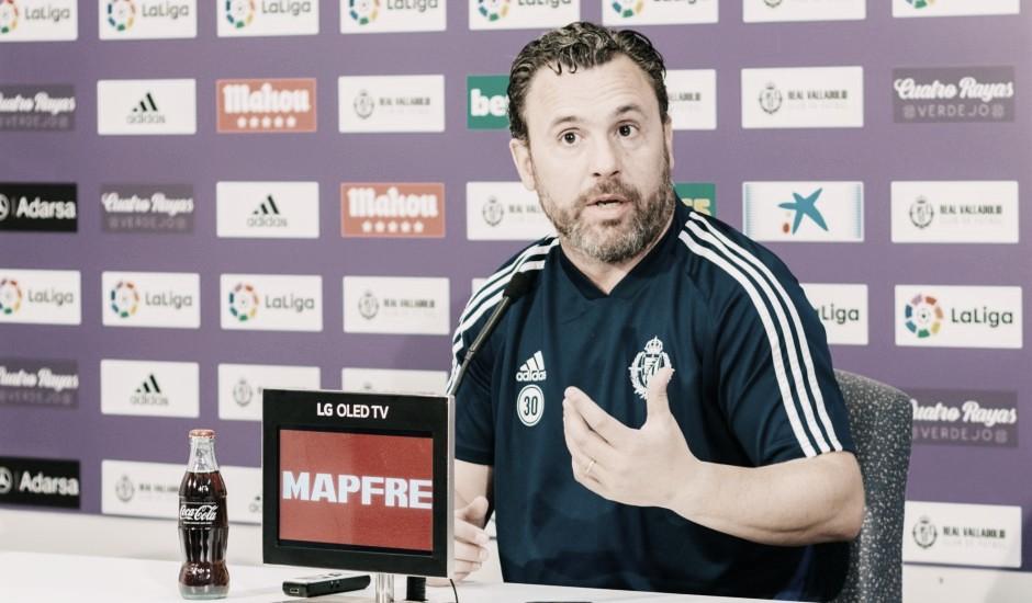 """Sergio González: """"Ojalá encontremos un Real Madrid con falta de conexión entre sus jugadores"""""""