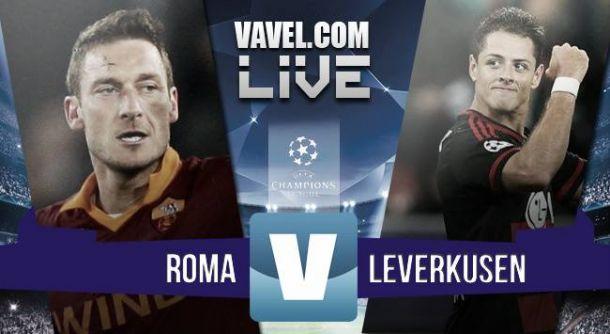 Resultado AS Roma - Bayer Leverkusen en Champions League 2015 (3-2)