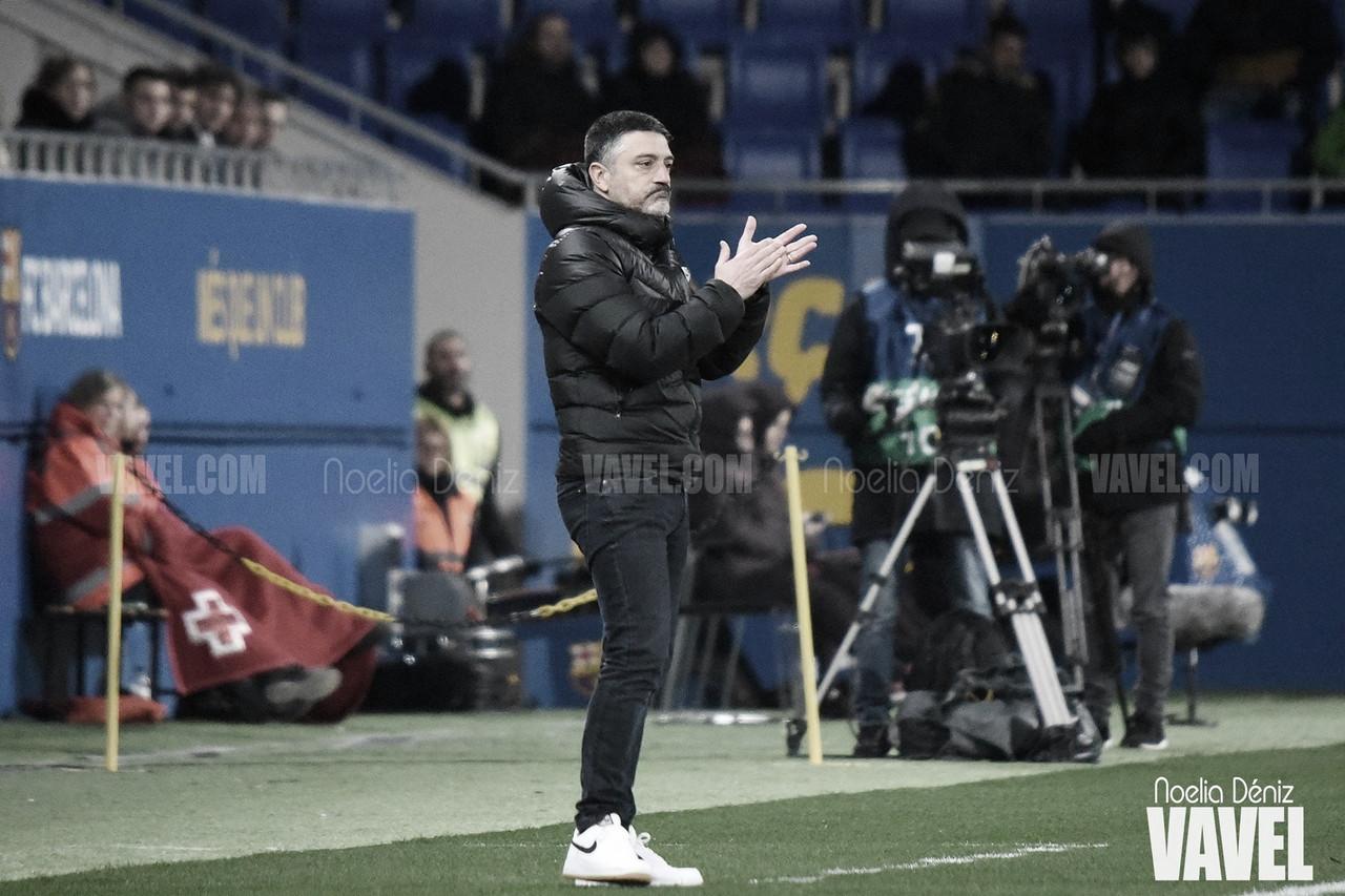 """García Pimienta: """"Tenemos que formar jugadores con futuro"""""""