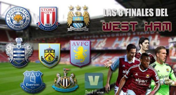 Las ocho finales del West Ham United