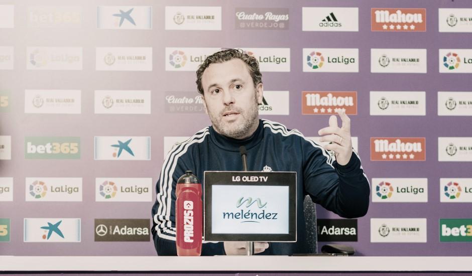 """Sergio González: """"Vamos a sufrir y hay que estar con el equipo"""""""