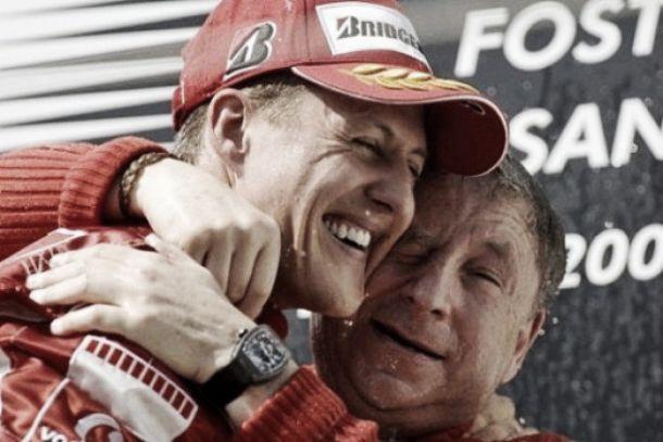 Jean Todt: Schumacher perto de voltar à vida normal