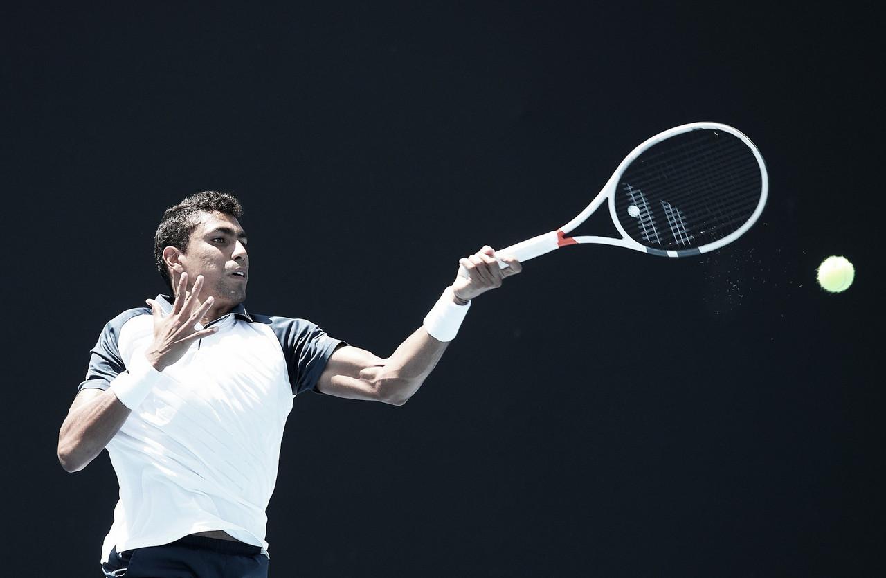 Casal Monteiro e Haddad Maia vence, mas Clezar cai na estreia do quali do Australian Open