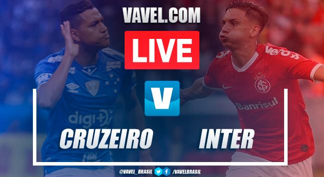 Gols e melhores momentos Cruzeiro 1x1 Inter pelo Campeonato Brasileiro