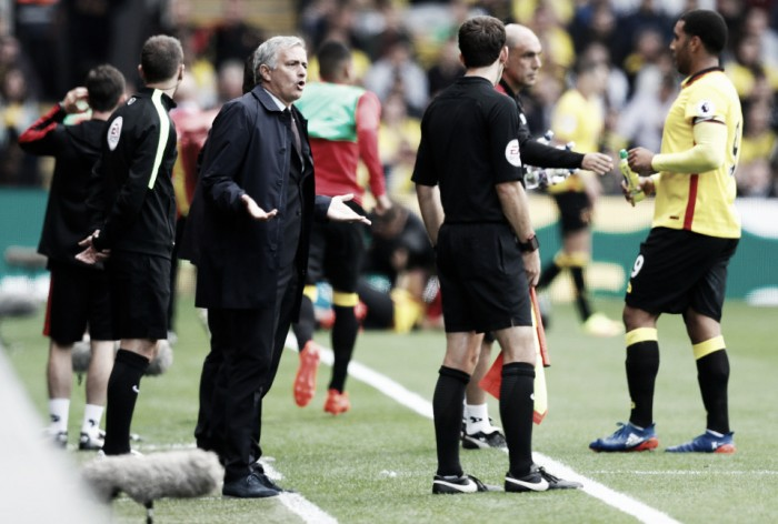 """Mourinho: """"Ni antes corría por la banda de alegría ni ahora me veréis triste"""""""
