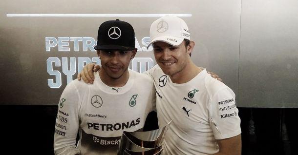 Hamilton e Rosberg fazem história com a Mercedes em 2014