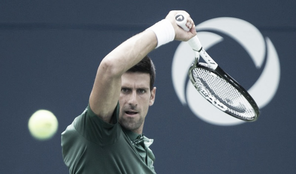 Djokovic aproveita chances e triunfa sobre Polansky em Toronto