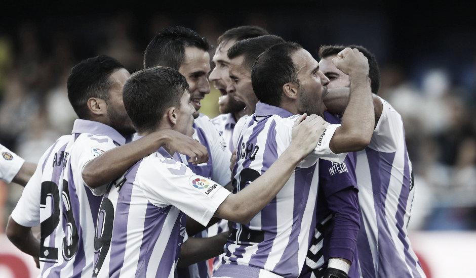 La evolución ofensiva del Real Valladolid