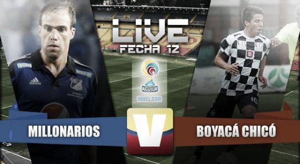 Resultado Millonarios - Chicó en Liga Águila 2015 (3-1)