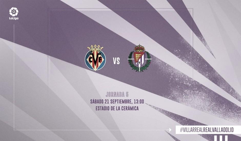 Villarreal vs Real Valladolid en VIVO y en directo en LaLiga Santander