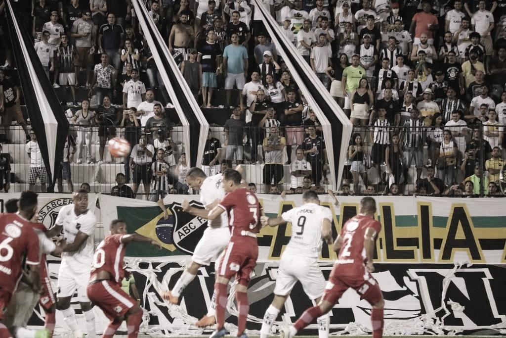 ABC e América-RN empatam na primeira final do Campeonato Potiguar