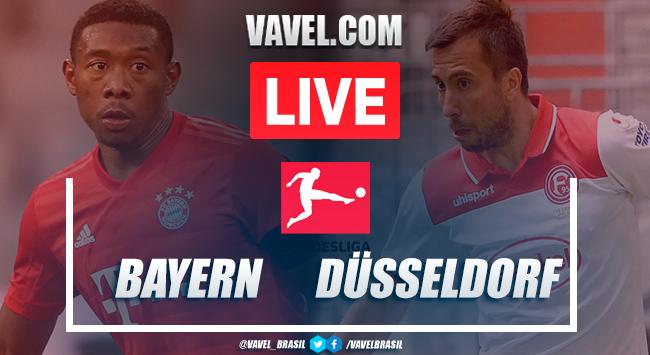 Assistir jogoBayern de Munique xFortuna Düsseldorf AO VIVO online pela Bundesliga 2019-20