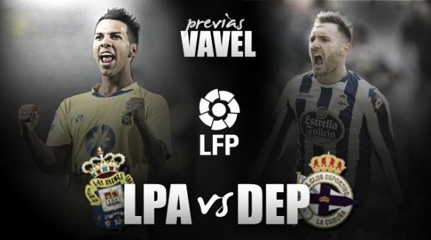UD Las Palmas - Deportivo: ganar jugando