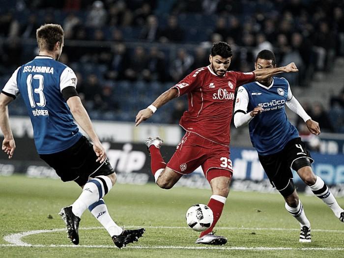Sensação da temporada, Würzburger Kickers derrota Arminia Bielefeld na 2. Bundesliga