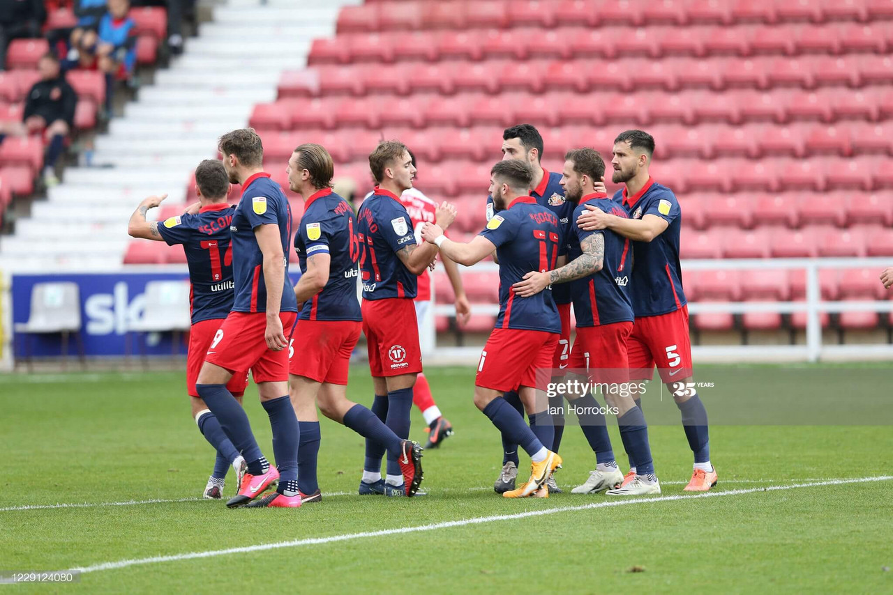 Swindon Town 0-2 Sunderland: Wyke and Maguire goals get the job done