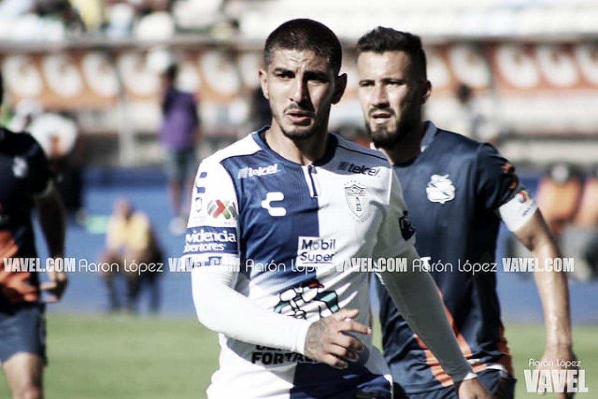 Víctor Gúzman;el centrocampista que mejor pisa el área sin balón