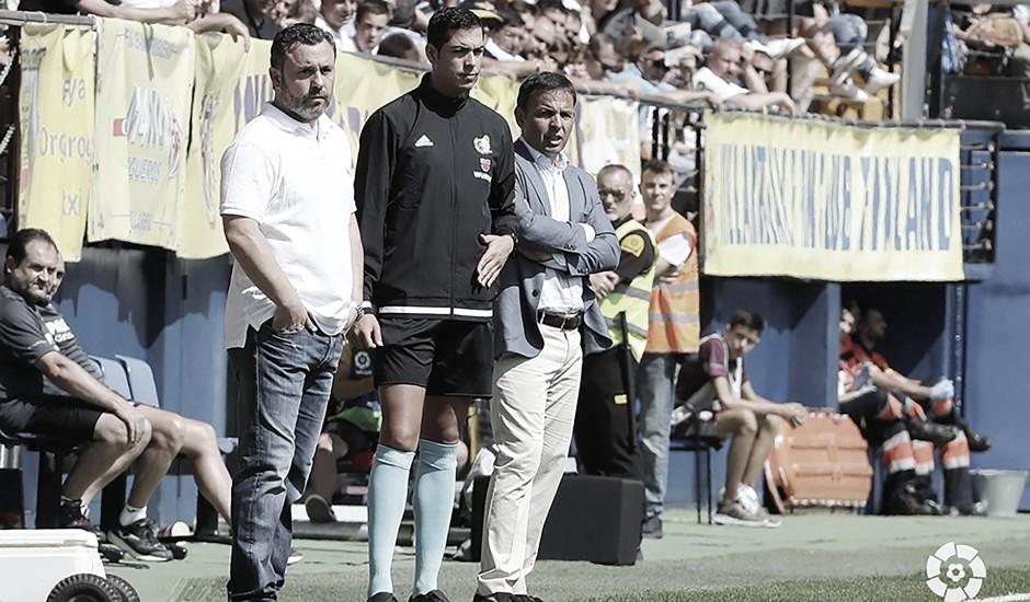 """Sergio González: """"No tengo nada que reprochar a los jugadores"""""""